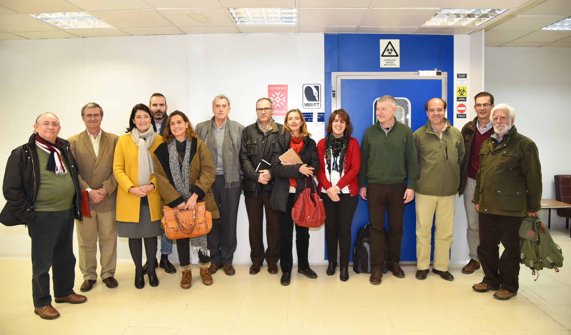 investigadores-representantes-dehesa-caza-tuberculosis