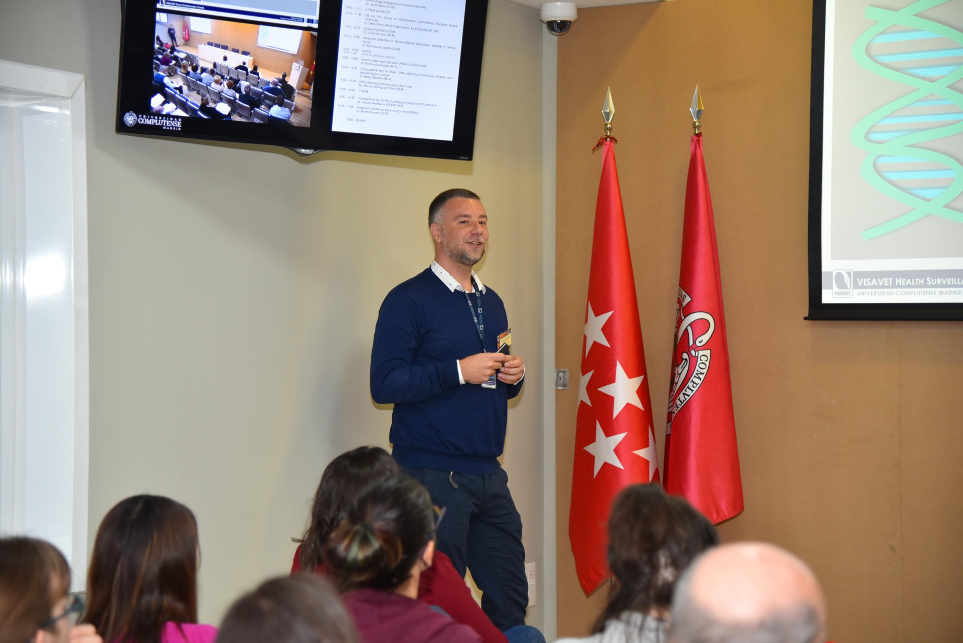 Emmanouil Liandris EURL Bovine Tuberculosis Workshop