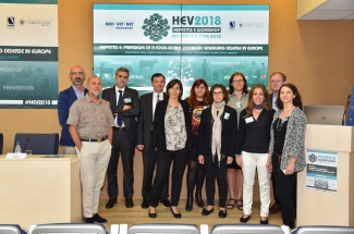 Hepatitis E workshop speakers and organizers