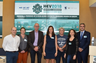 Ponentes y organizadores del workshop de Hepatitis E