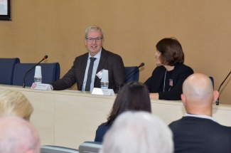 Jostein Dragset (European Commission) during the opening of the VII Workshop