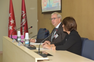 Jostein Dragset (European Commission) during the opening of the VII Workshop of EU-RL for Bovine Tuberculosis