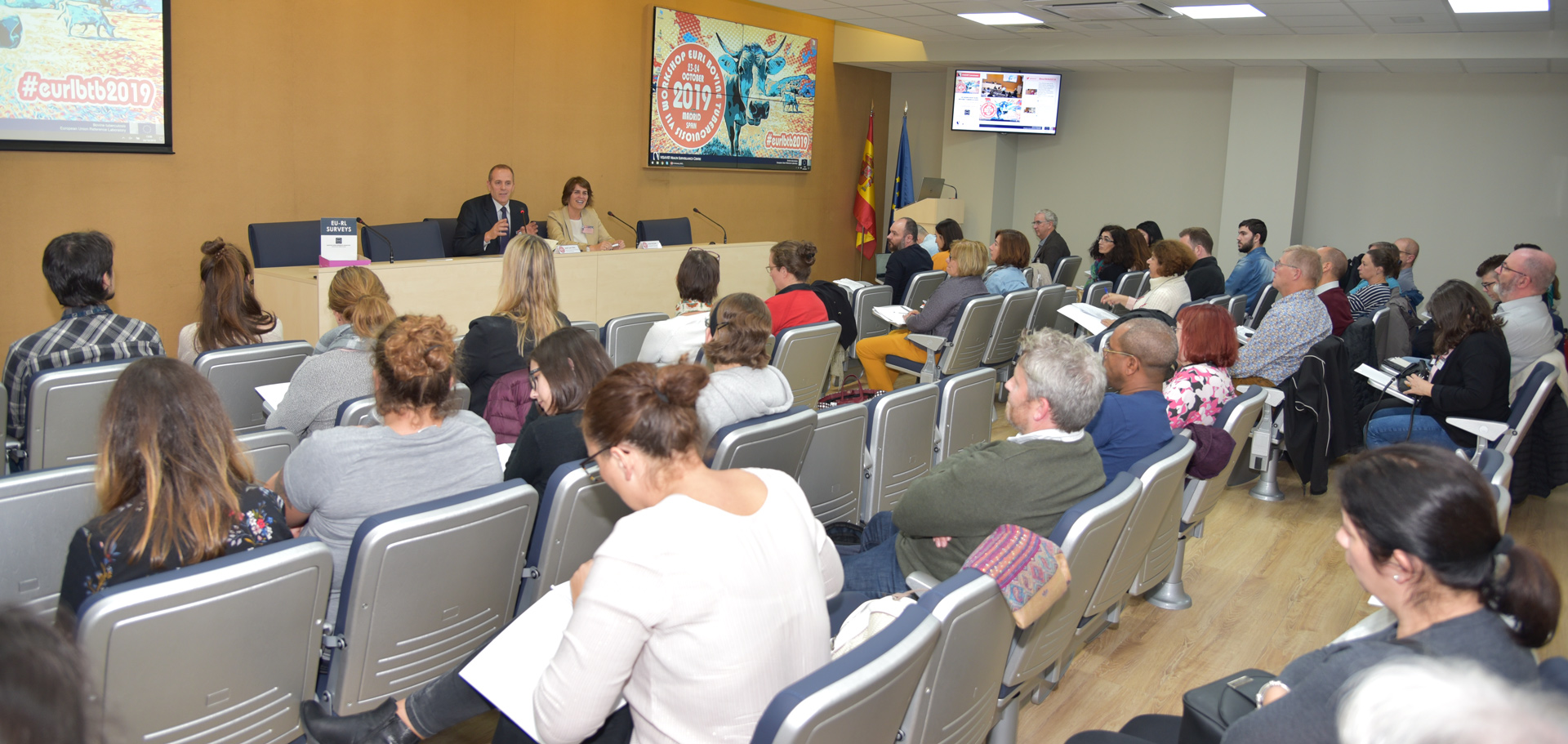 Closing of the meeting & conclusions with José Luis Sáez (Ministry of Agriculture, Food and Environment) and Lucía de Juan (VISAVET Director)