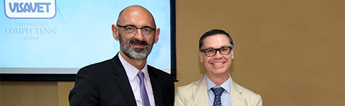 Joaquín Goyache and Víctor Briones, new UCM Full Professors