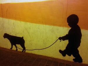 pintada callejera de Madrid